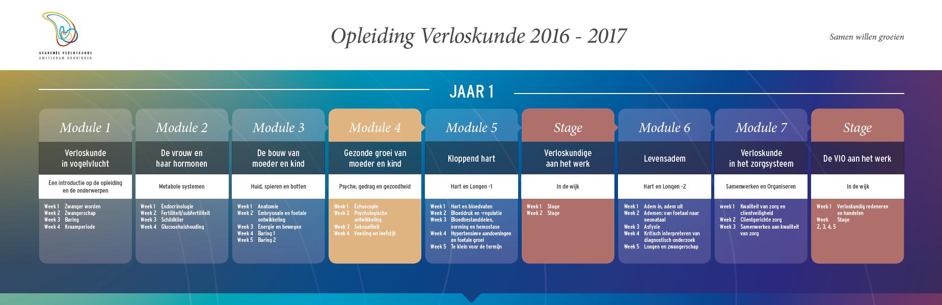 schema curriculum 2014_jaar 1